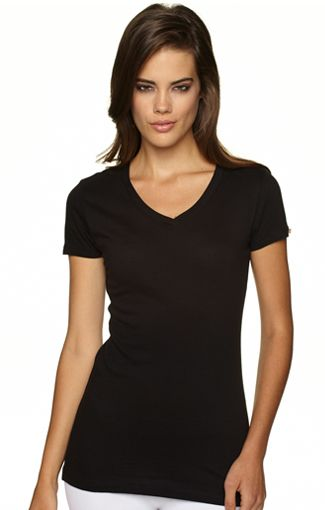 Next level 3400 V neck w spandex