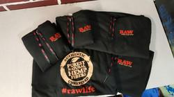 Raw hoodies