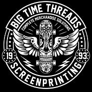 Big Time threads screen printing