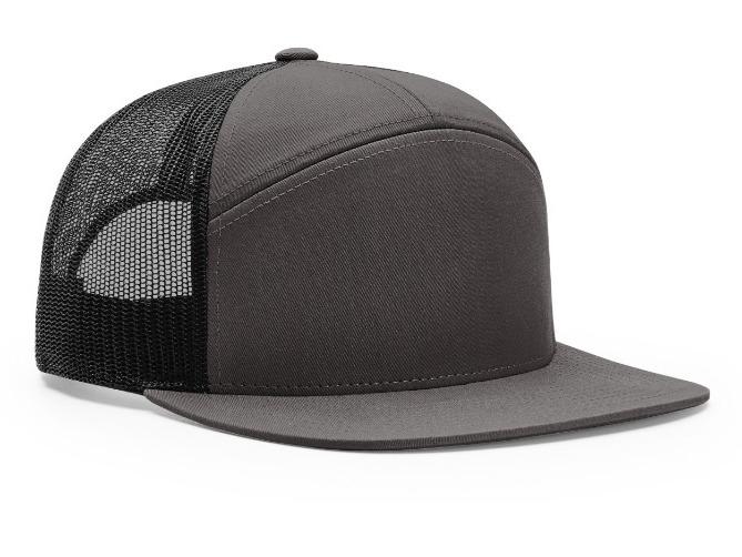 7 panel hats