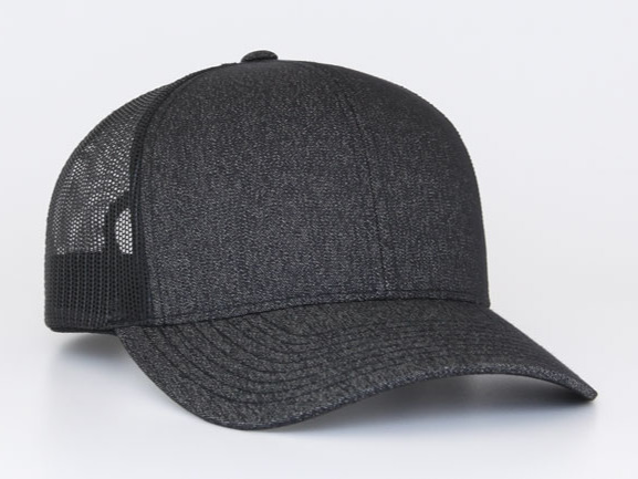 Curved bill hats