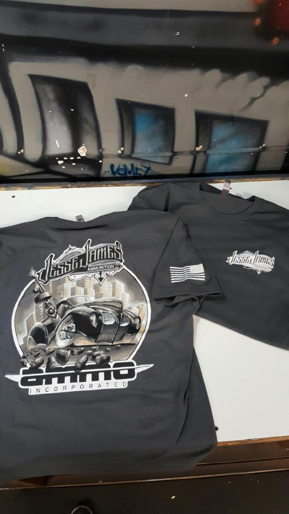 Jesse James Ammo inc gangster tee