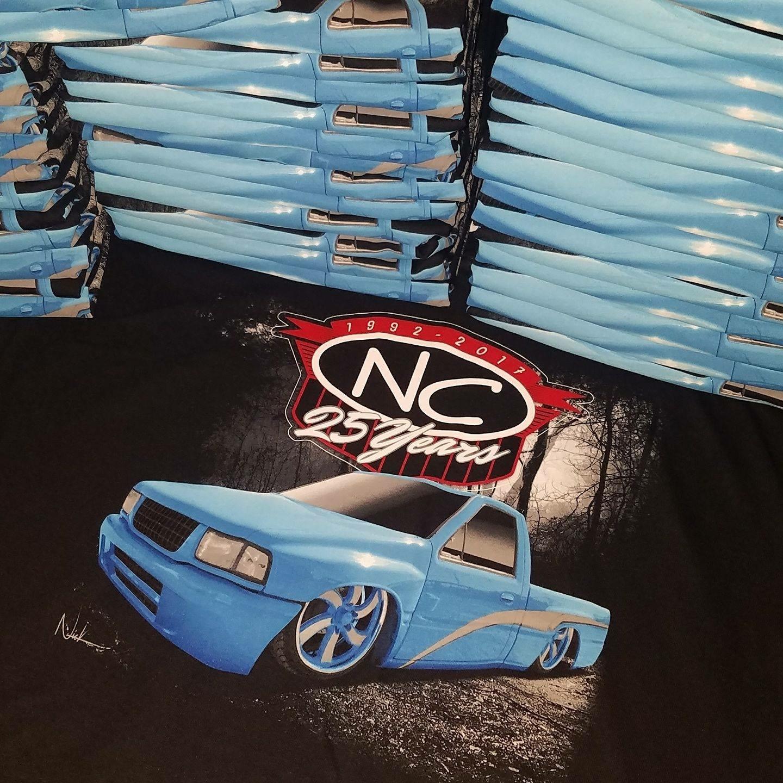NC truck tee