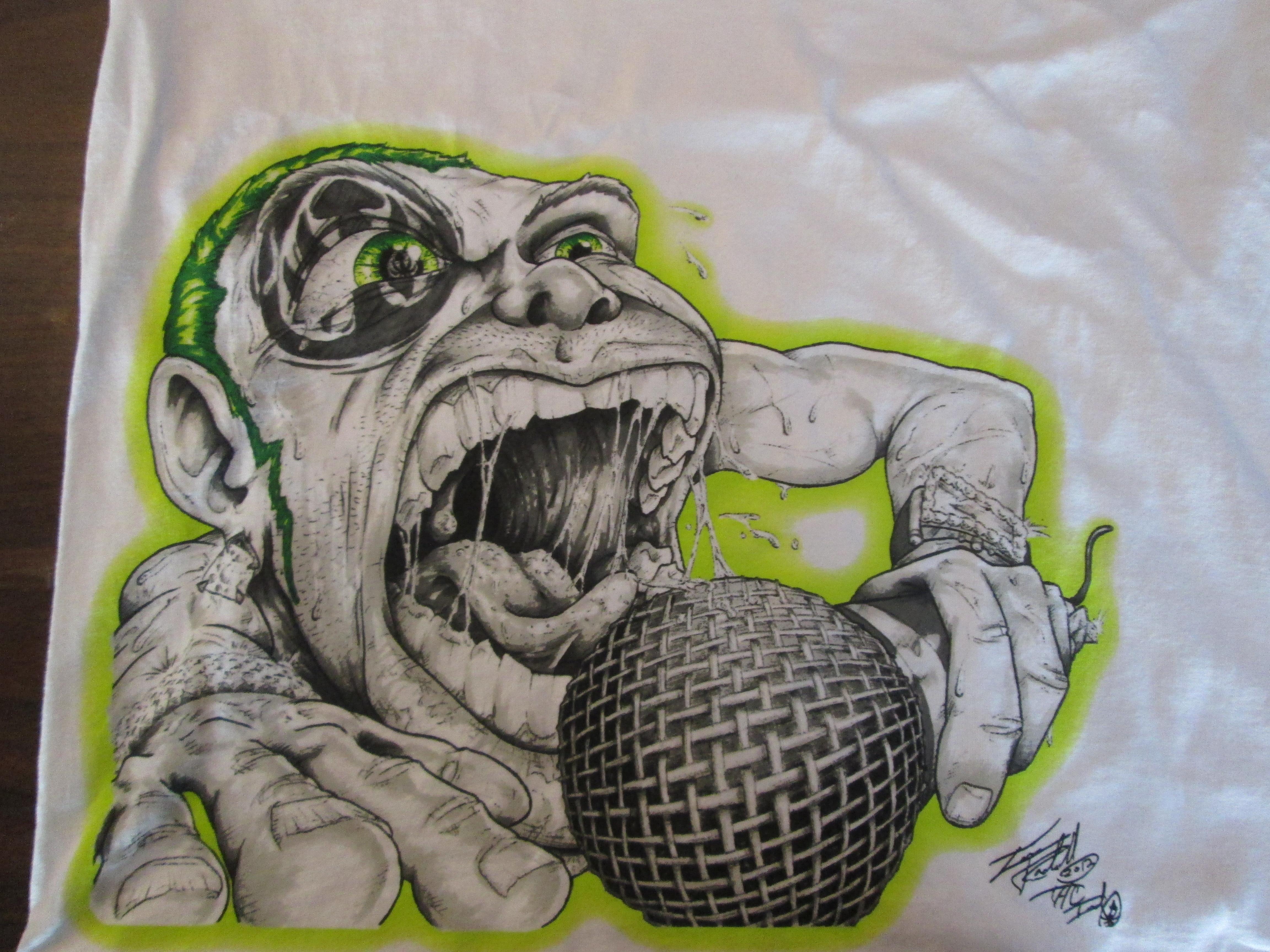 crazy mic man