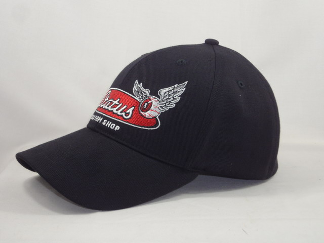 Status curved bill hat