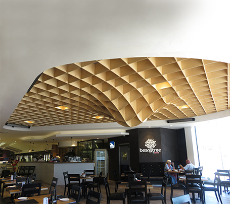 Bespoke Timber Ceiling