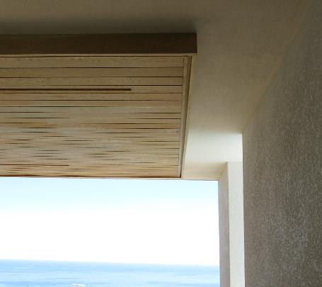 Timber Ceiling Bulkhead