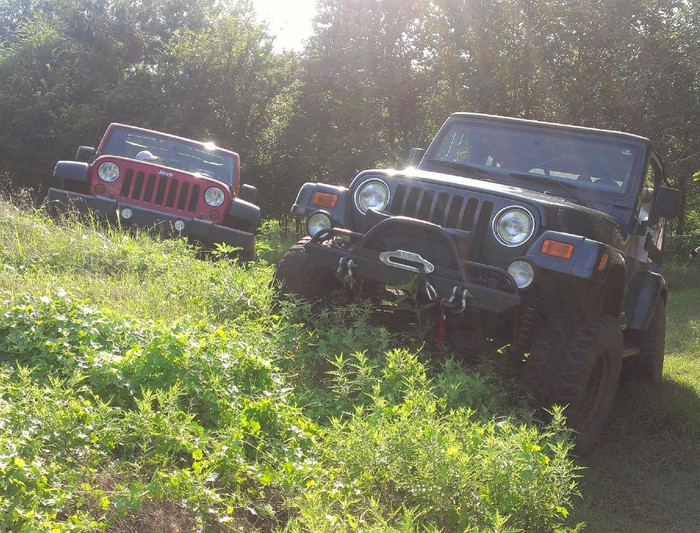 Jeepin at the Land!