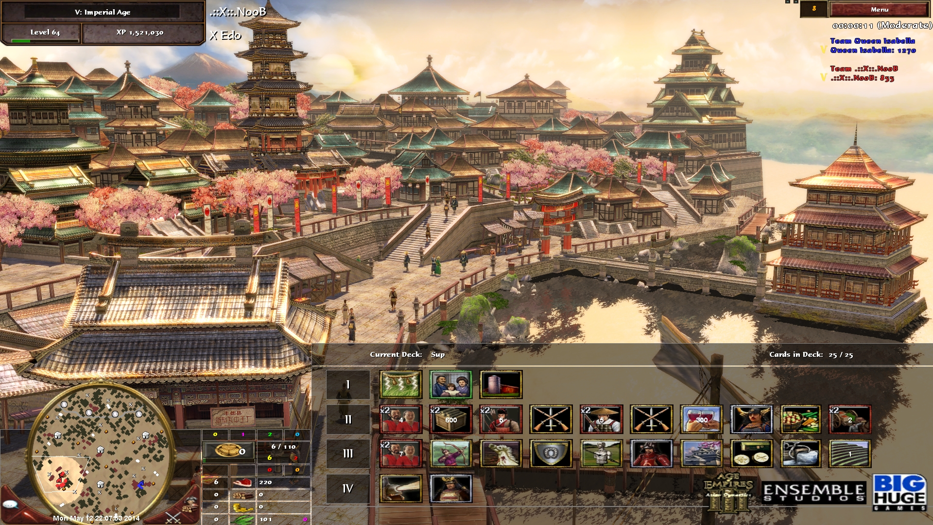 Japan Xxix Moving: Age Of Empires III .::X::. Clan