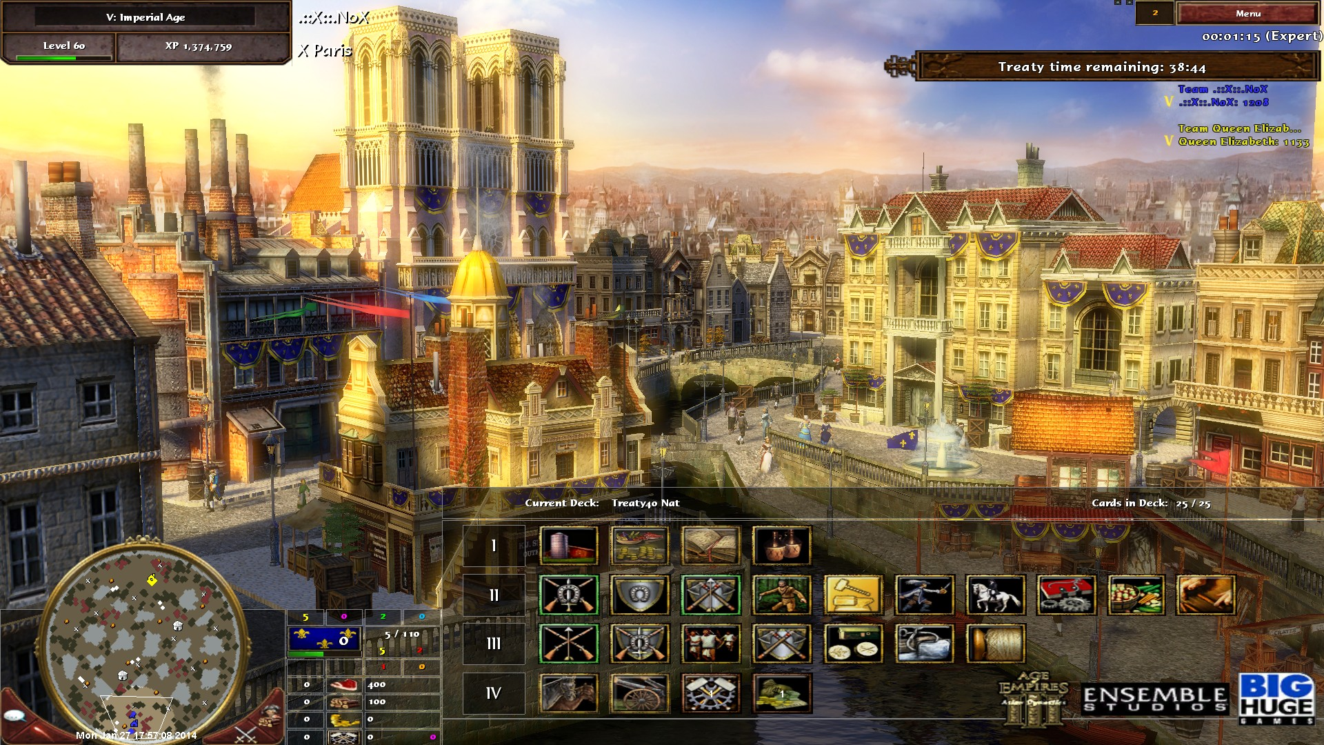 TR40] French [Land] Guide | Age of Empires III  ::X::  Clan