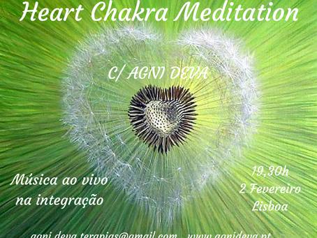Heart Chakra Meditation c/ Agni Deva .:. 2 Fev. .:. Música vivo Integração