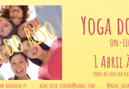 Yoga do Riso online :)
