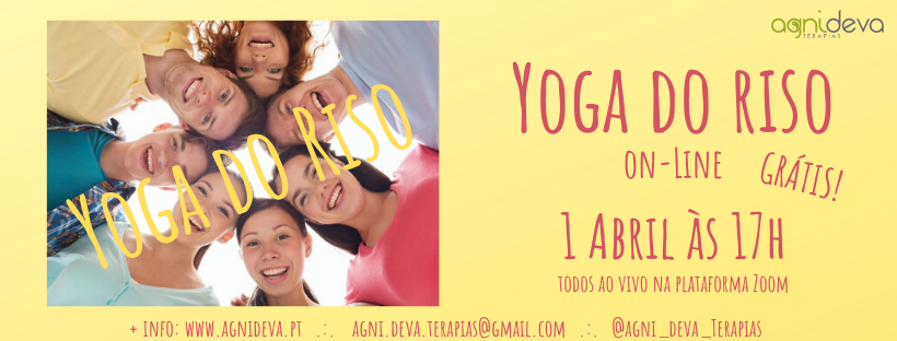 Yoga do Riso online :)