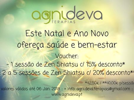 Este NATAL e ANO NOVO ofereça saúde e bem-estar :)