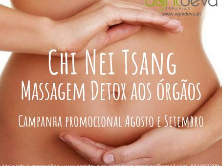 Chi Nei Tsang - massagem detox órgãos
