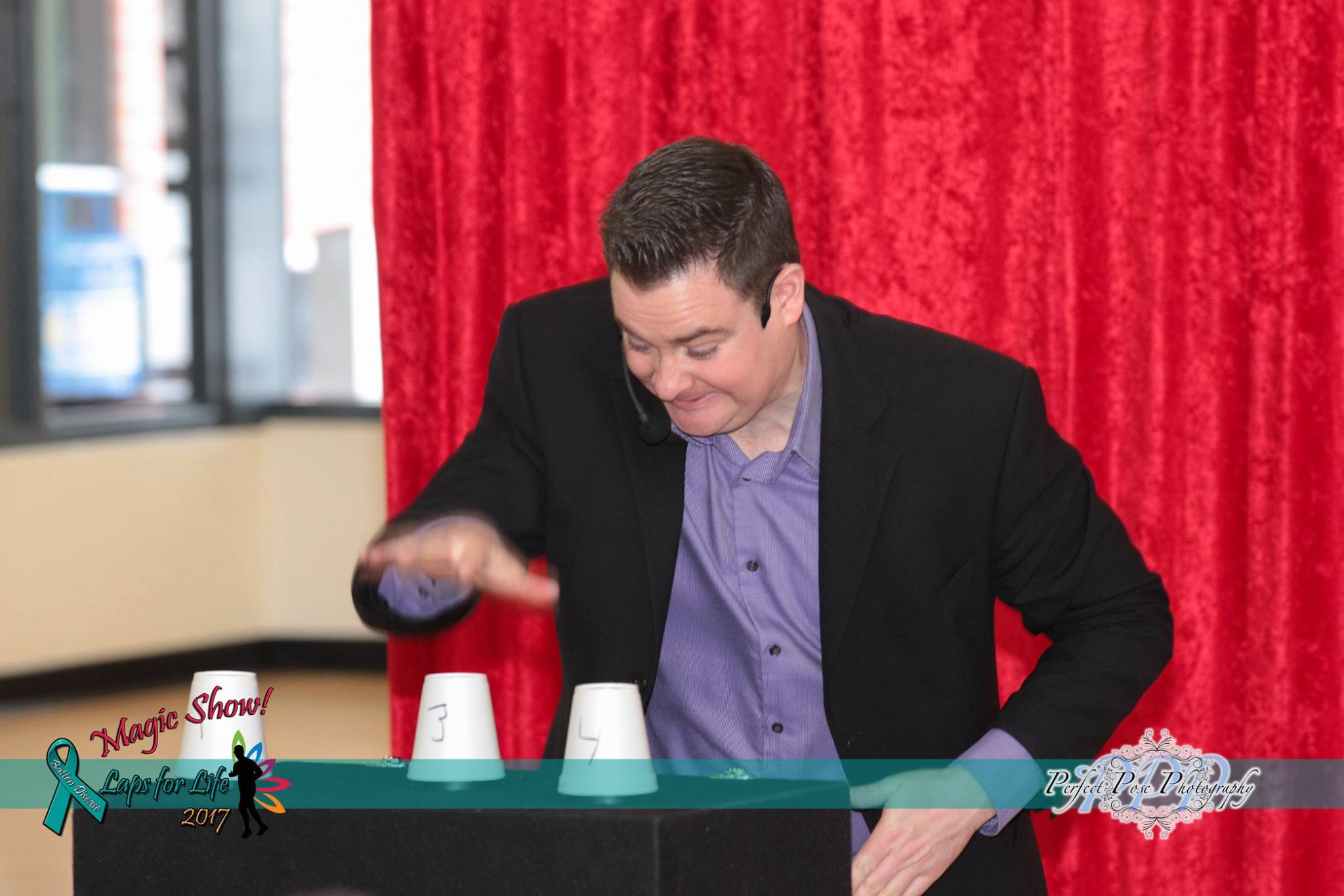 Magic show fundraisers