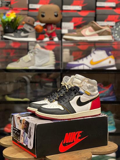 Air Jordan 1 Union Black Toe Used