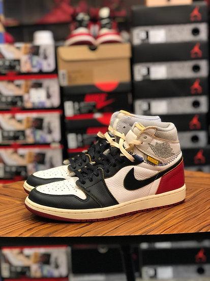 Jordan 1 Union Black Toe US10 No Box