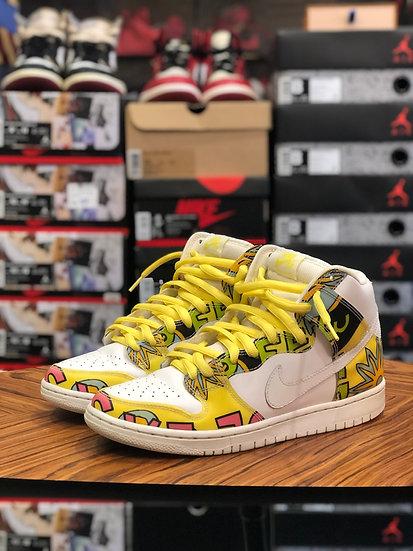 Nike Dunk SB High Del La Soul US 9 No Box