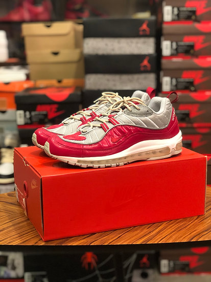 Nike Supreme Air Max 98 Red US9