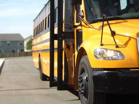 Running To The School Bus
