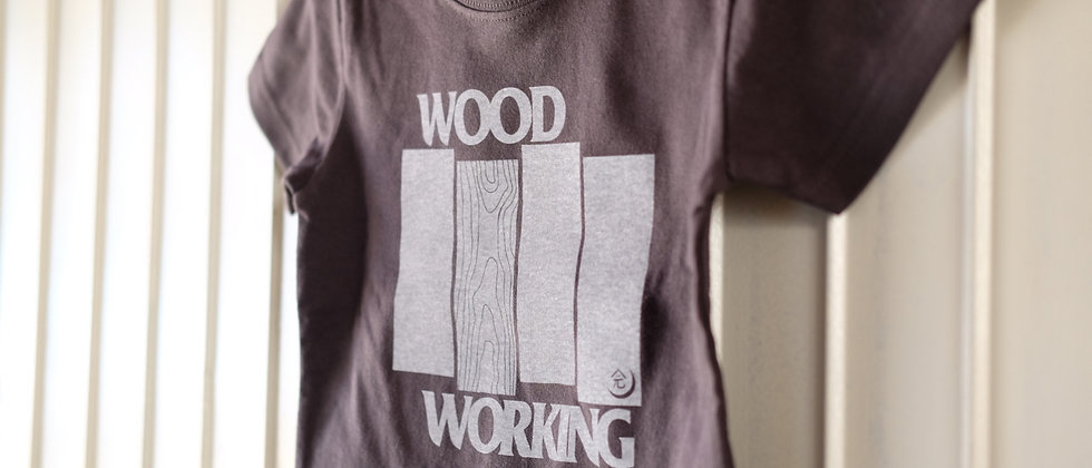 "[Toddler]""WOOD WORKING""  T-shirt"