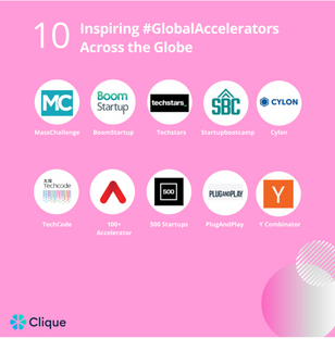 100+ Accelerator named one of the 10 most inspiring accelerator programs in the world