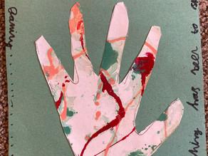 'The Hand of Lockdown' by Aaron Wilks