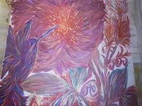 'Garden lights...Winds Breeze' by Emma Croxford
