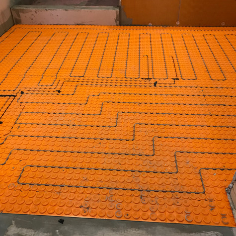Shluter Heated Floors