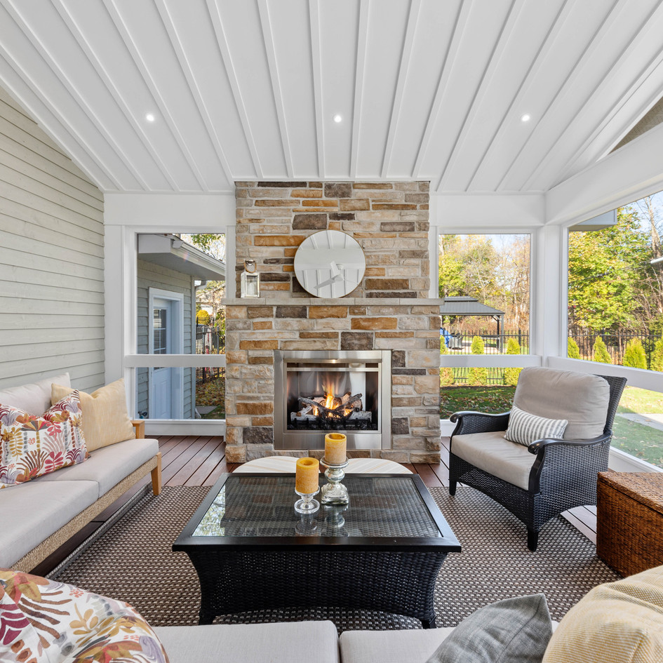 3 season luxury porch extension