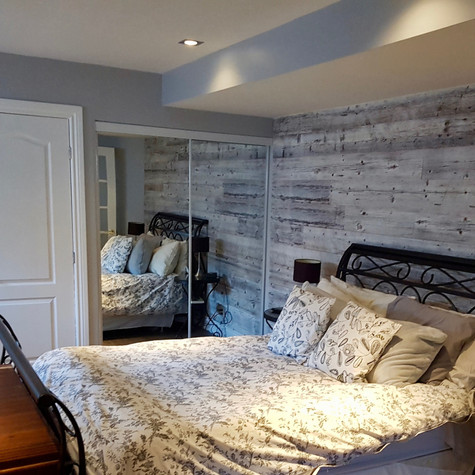 Blainville bedroom renovation
