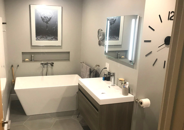 Bonsecours Project: Bathroom