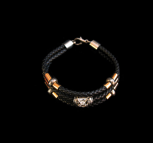House of Mandela Triple String Bangle