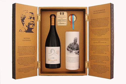 House Of Mandela 100 Year Centenary Wine Gift Box