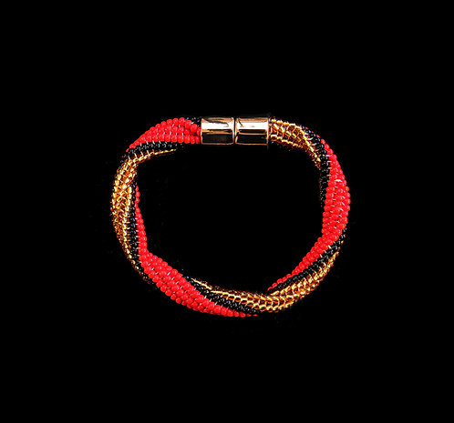 House Of Mandela Beaded Bangle