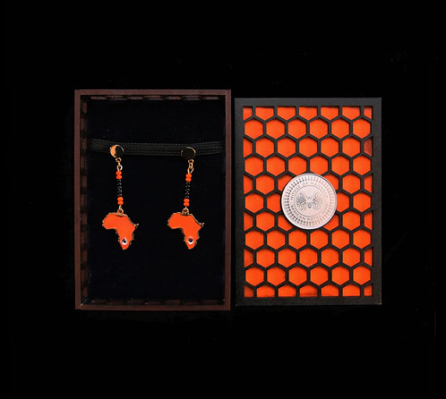 House Of Mandela African Story Earings