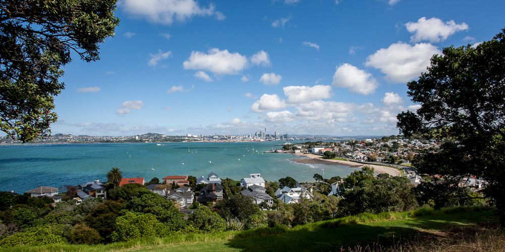 Auckland, as viewed from North Head above Devonport. What a fabulous place to live & host the World Masters Games - the largest sporting event in the World!