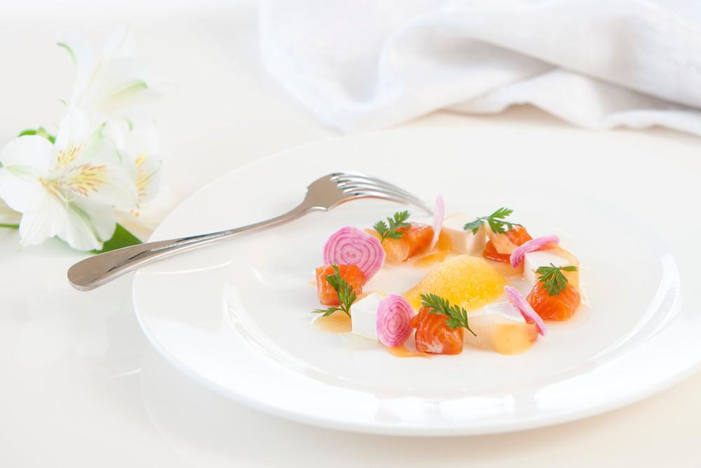 Paul's speciality is Asian fusion cuisine… blending Asian & European flavours