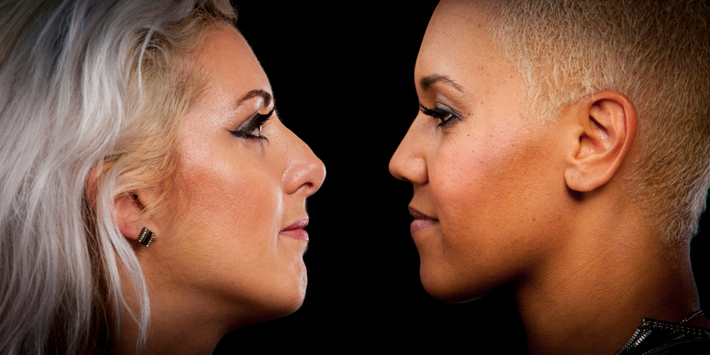 these two gorgeous ladies love each other, but they could be competing against each other - this scenario happens all the time in practically every sport. Can you go face to face with your opponent & hold your nerve?