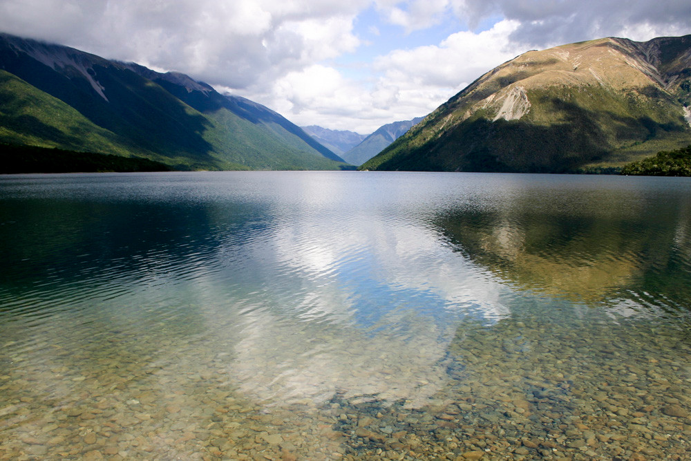 The South Island lakes are one of many places you can go to in New Zealand for pure peace & relaxation. Everyone needs that, and more often if possible.