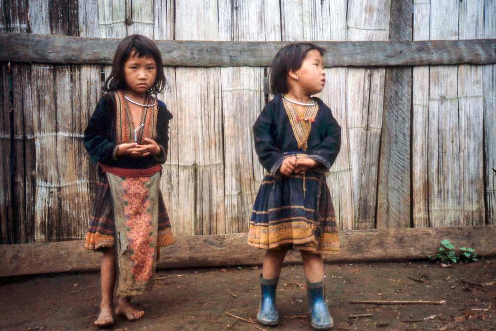 Shan tribe children in the north of Myanmar