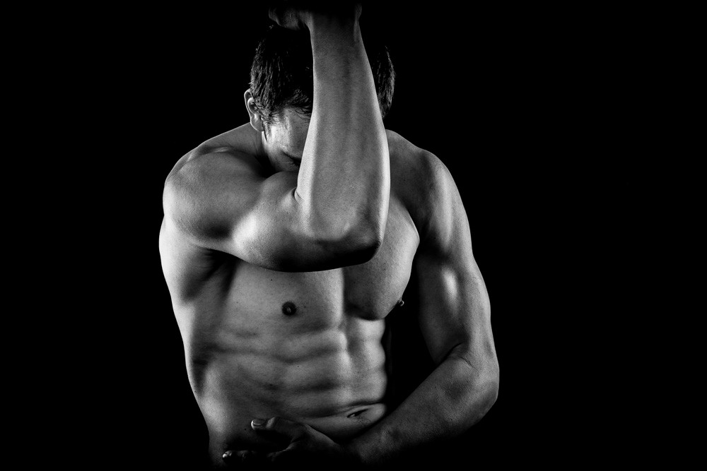 to create a body like this requires not just dieting, but serious gymn work over a reasonable period of time.