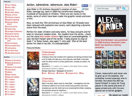 Action. Adrenaline. Adventure. Alex Rider!