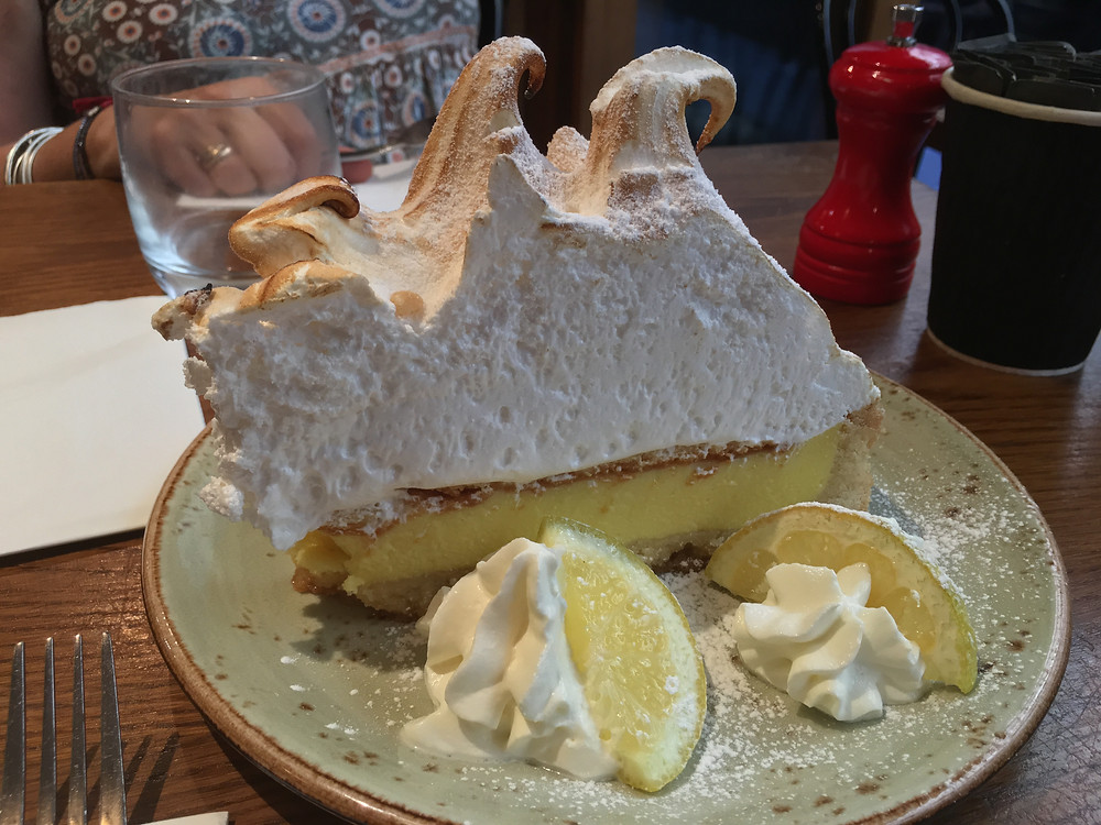 At this great little Italian bistro we went to a couple of times, the Lemon Meringue Pie was to die for!
