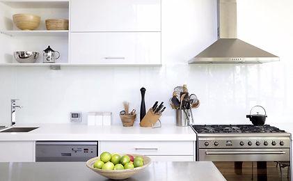 Dishwasher, oven, range