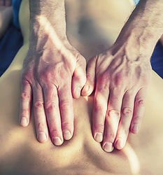link to massage therapy services page outlining descriptions for SWEDISH, SPORTS, DEEP TISSUE & MYOFASCIAL RELEASE services