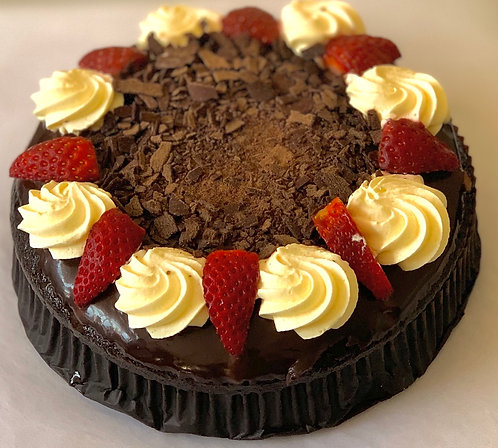 Fresh Cream Mud Cake