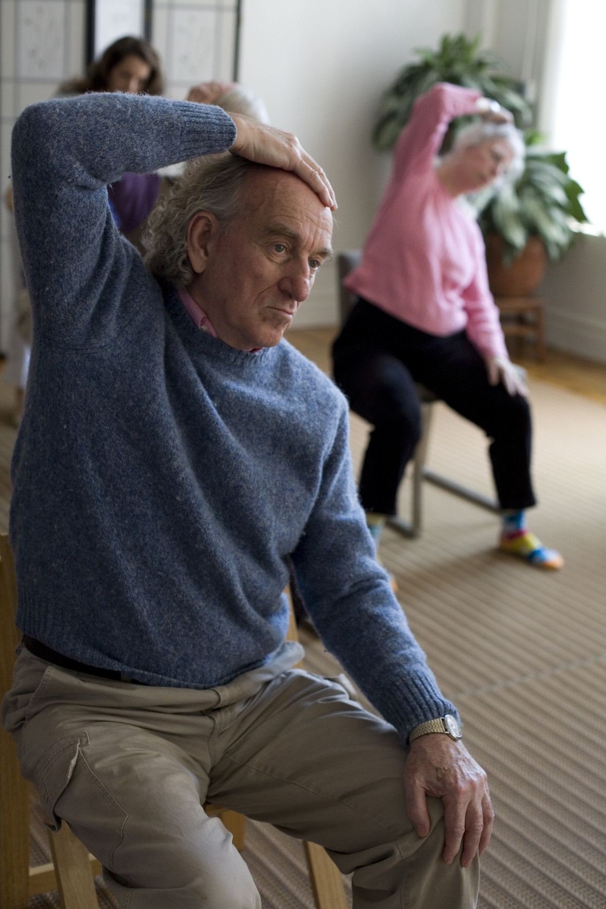 Chairs: Mindful Movement with PD - July