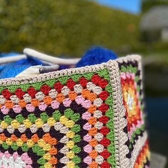 Summer Bag Granny Squares